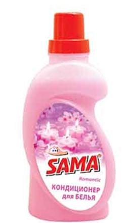 Кондиционер для белья SAMA Romantic 750 мл