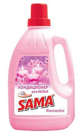 Кондиционер для белья SAMA Romantic 1,5 л