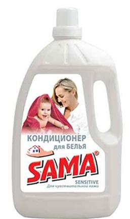 Кондиционер для белья SAMA для чувствительной кожи 3 л