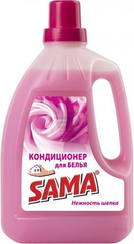 Кондиционер для белья SAMA Нежность шелка 3 л