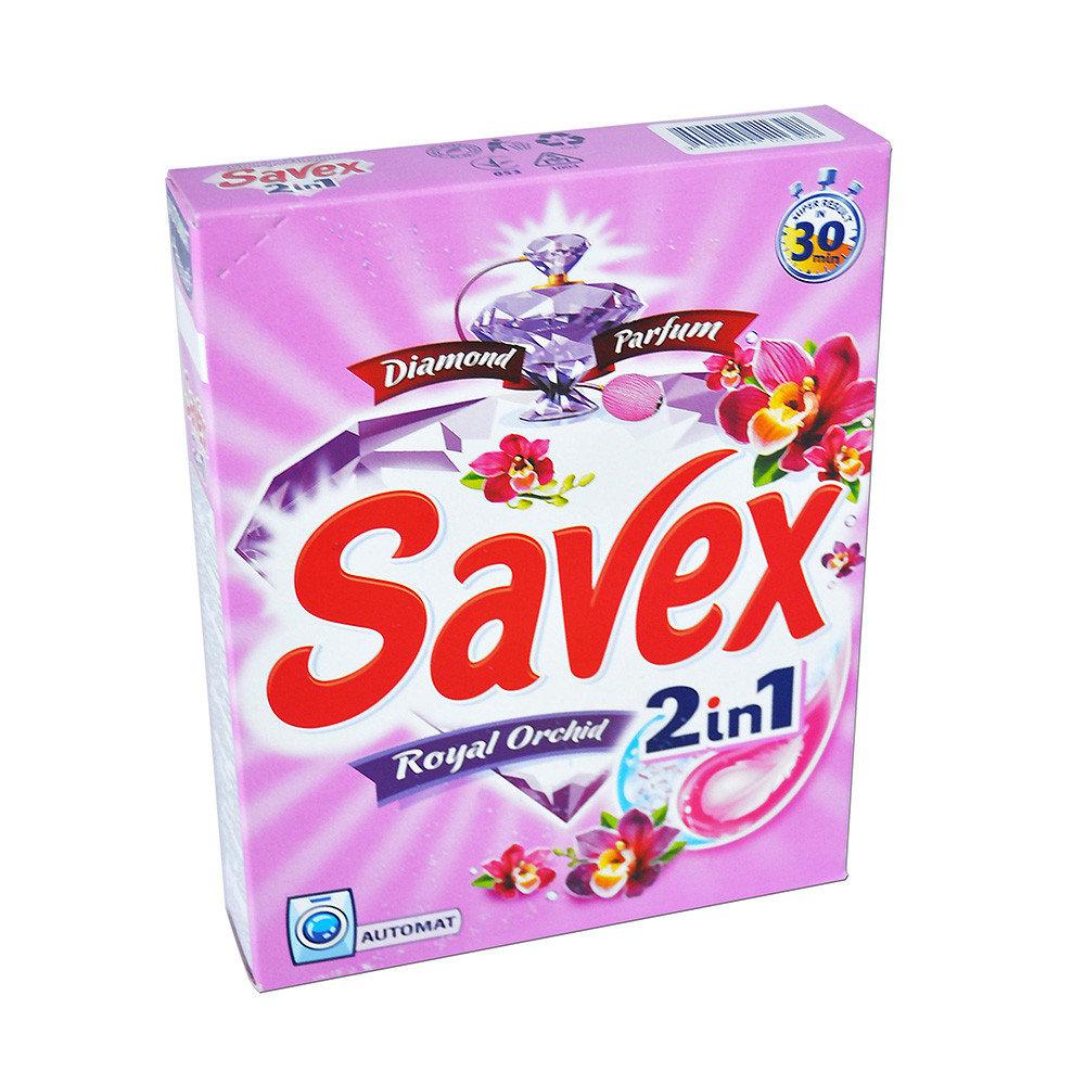 Стиральный порошок Savex автомат Diamond Parfum 2in1 Royal Orchid 400 гр