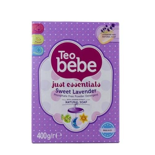 Стиральный порошок Тeo bebe для детских вещей Just essentials Sweet Lavander 400 гр