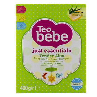 Стиральный порошок Тео bebe для детских вещей Just essentials Tender Aloe 400 гр