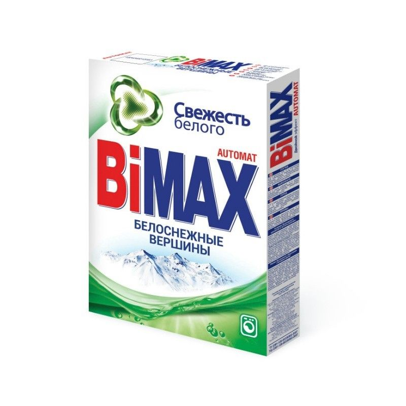 Стиральный порошок BiMAX Белоснежные вершины автомат 400 гр