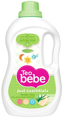 Гель для стирки Teo Bebe Just essentials Tender Aloe 1,1 л