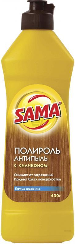 Средство для ухода за мебелью SAMA Горная свежесть (Полироль) 430 гр