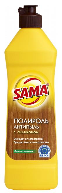 Средство для ухода за мебелью SAMA Лесная свежесть (Полироль) 430 гр