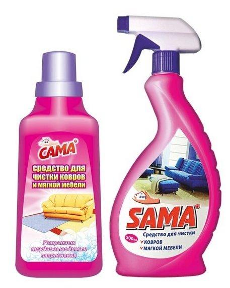 Средство для чистки ковров и мягкой мебели SAMA 500 мл