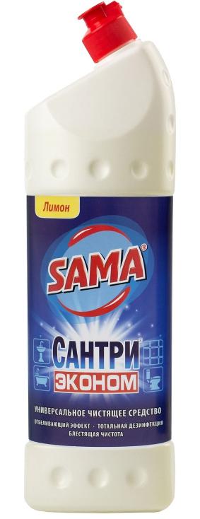 Универсальное чистящее средство SAMA Сантри Эконом Лимон 1 л