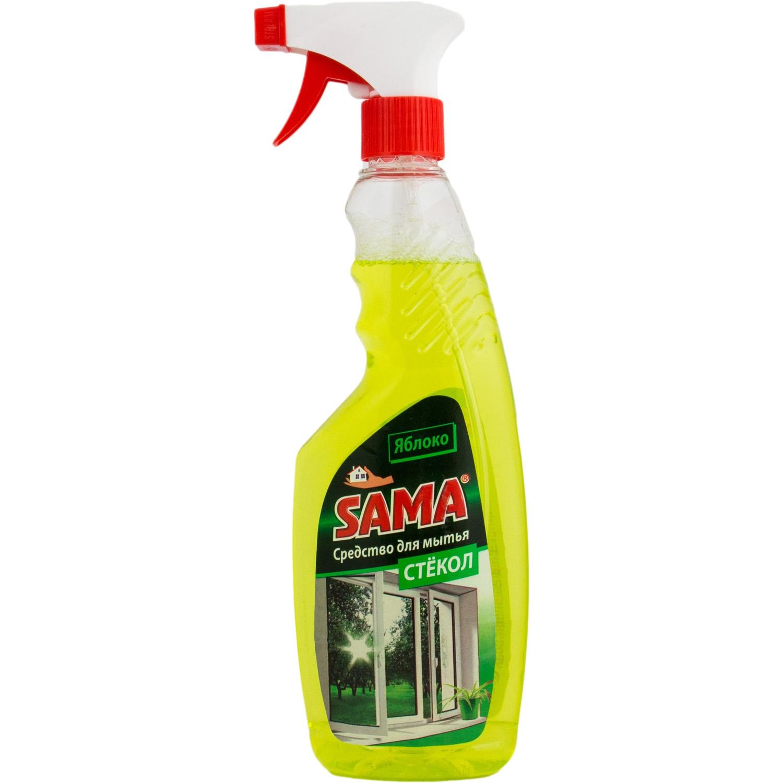 Средство для мытья стекла SАМА Яблоко (триггер) 500 мл
