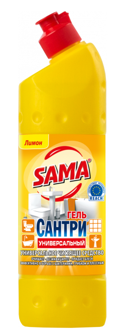 Универсальное  чистящее средство SAMA Сантри Лимон 500 мл