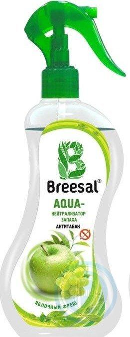 Нейтрализатор запаха Антитабак Breesal AQUA Яблочный фреш 375 мл