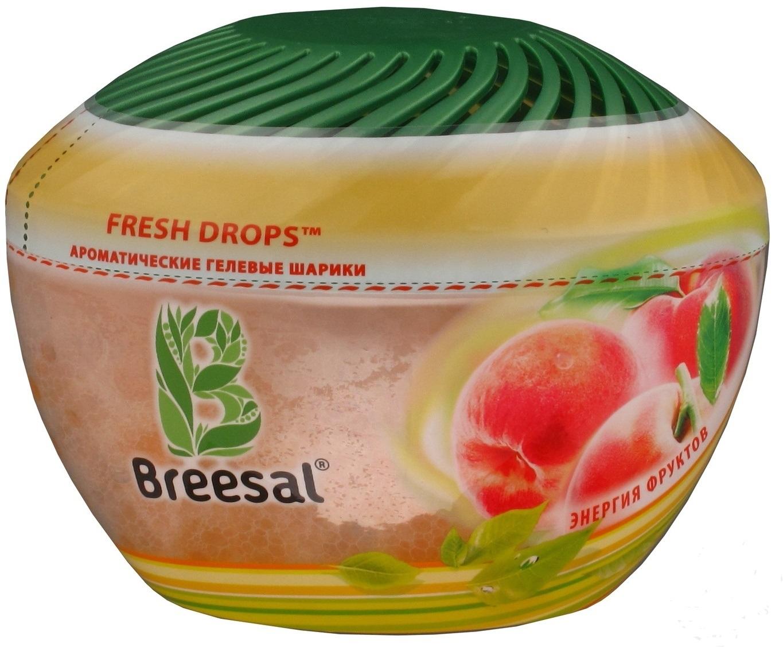 Ароматические гелевые шарики Breesal «Fresh Drops» Энергия фруктов 215 гр