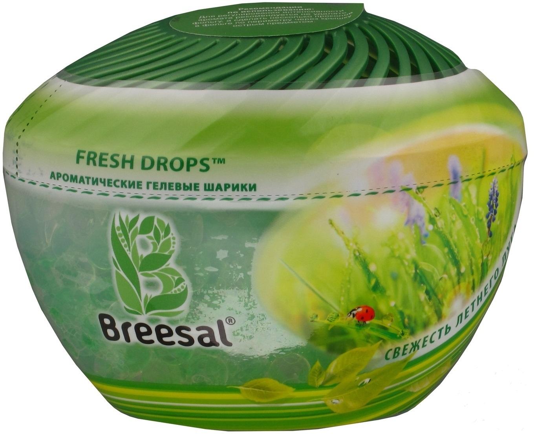 Ароматические гелевые шарики Breesal «Fresh Drops» Свежесть летней поляны 215 гр