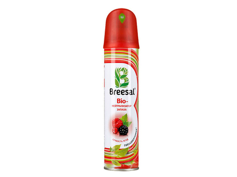 Bio-нейтрализатор запаха Breesal Сочность ягод 275 мл