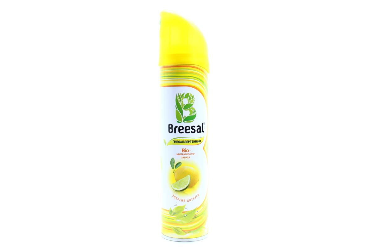 Bio-нейтрализатор запаха Breesal Энергия цитруса 275 мл