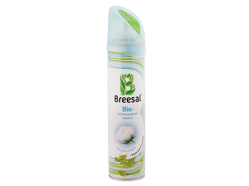 Bio-нейтрализатор запаха Breesal Нежность хлопка 275 мл