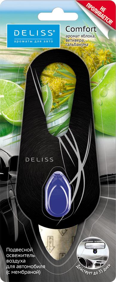 Освежитель воздуха для автомобиля Deliss Comfort Подвесной 4 мл