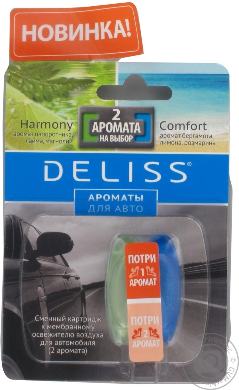 Сменный картридж Deliss Comfortи Harmony (2 аромата)