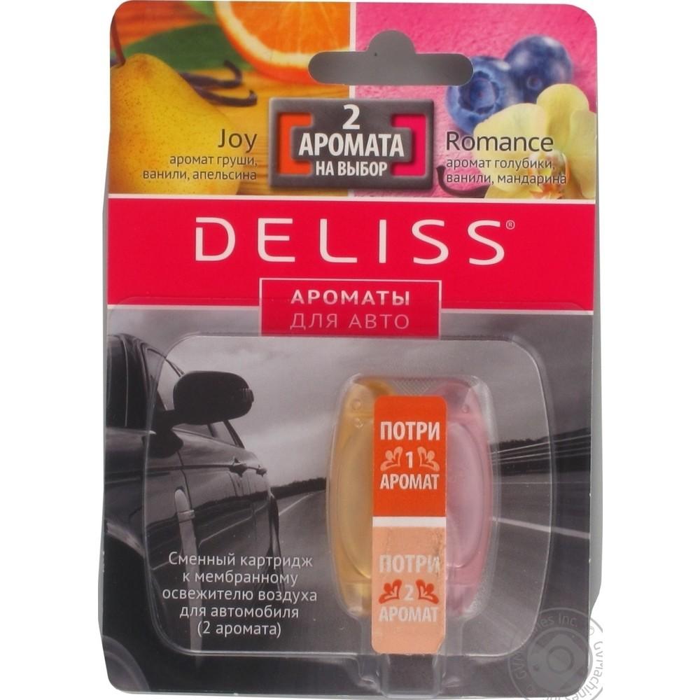 Сменный картридж Deliss Romanceи Joy (2 аромата)