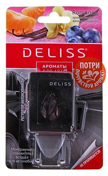 Освежитель воздуха для автомобиля Deliss Мембранный Romance 2013 4 мл