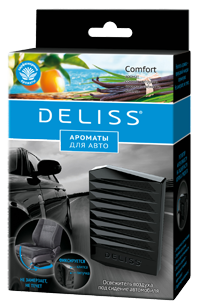 Освежитель воздуха под сидение автомобиля Deliss Comfort (6/48) 40 гр