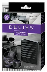 Освежитель воздуха под сидение автомобиля Deliss New Car (6/48) 40 гр