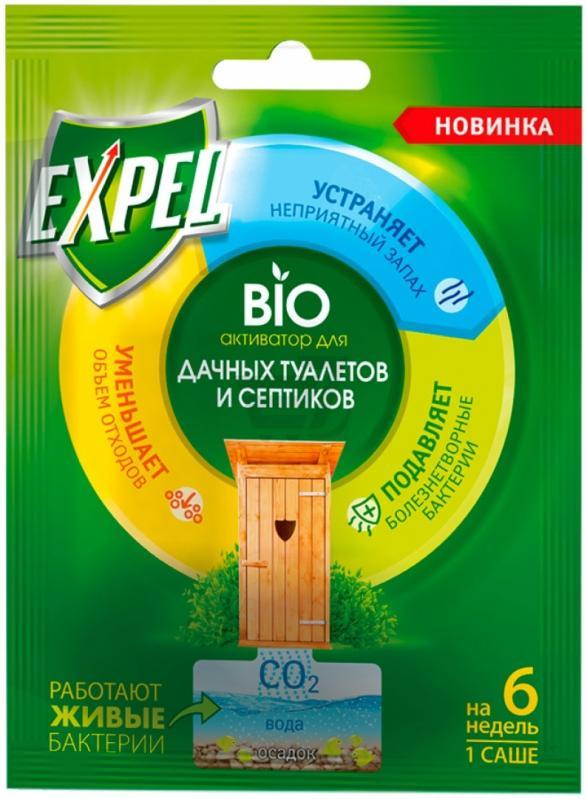 Биоактиватор Expel  для дачних туалетов, 1 саше