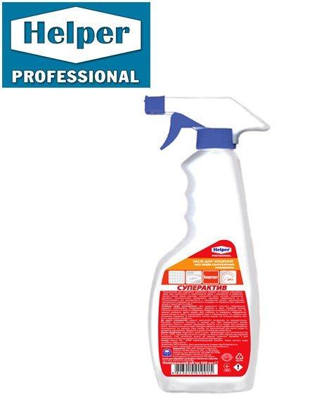 Средство для чистки сантехнических поверхностей Helper Professional Суперактив 500 мл