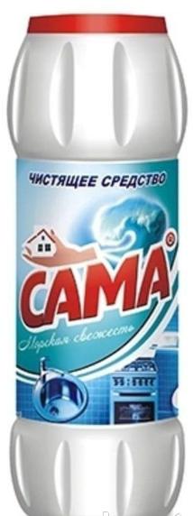 Средство для чистки унитазов SАМА Морская свежесть 500 гр