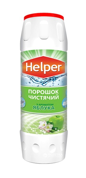Чистящий порошок Helper с ароматом Яблока 500 гр
