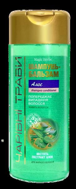 """Шампунь-бальзам Pirana """"Алоэ"""" (Волшебные травы) 220 мл"""