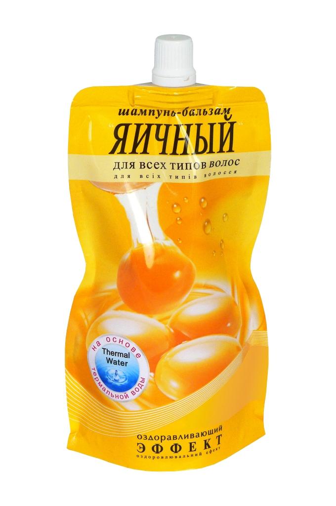 """Шампунь-бальзам Фитодоктор """"Яичный"""" 270 мл (Дой-Пак)"""