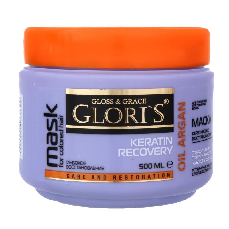 Маска для волос Glori's Keratin Recovery 500 мл
