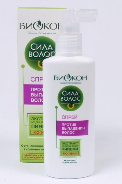 Спрей против выпадения волос Биокон Сила волос 150 мл
