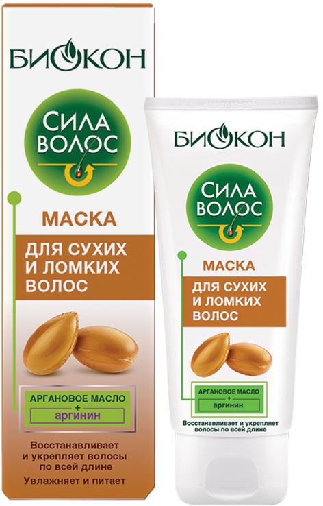 Маска Биокон Сила волос для сухих и ломких волос 100 мл