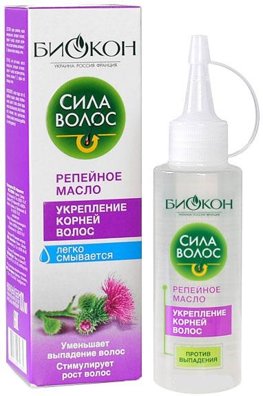 Репейное масло Биокон Сила волос укрепление корней волос 100 мл