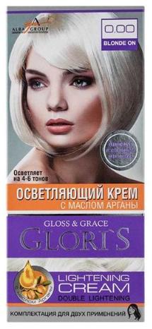 Крем-краска для волос (2 применения) Glori's Осветляющий крем 0.00