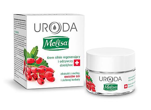 Крем интенсивно-восстанавливающий питательный с ягодами годжи  Uroda Melisa 50 мл