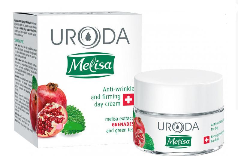 Крем для лица Uroda Melisa против морщин с гранатом Дневной 50 мл