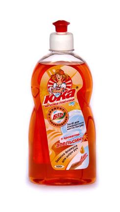 Средство для мытья посуды ЮКА с ароматом Апельсина 500 мл