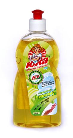 Средство для мытья посуды ЮКА с ароматом Лимона 500 мл