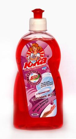Средство для мытья посуды ЮКА ароматом Лесных ягод 500 мл