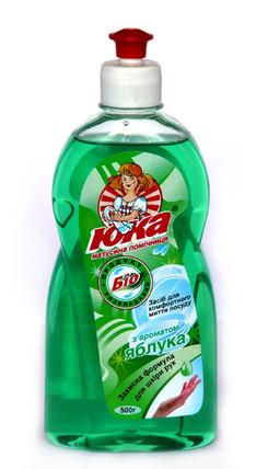 Средство для мытья посуды ЮКА с ароматом Яблока 500 мл