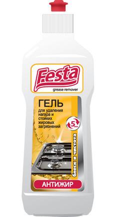 Гель для удаления нагара и стойких жировых загрязнений Festa 500 гр